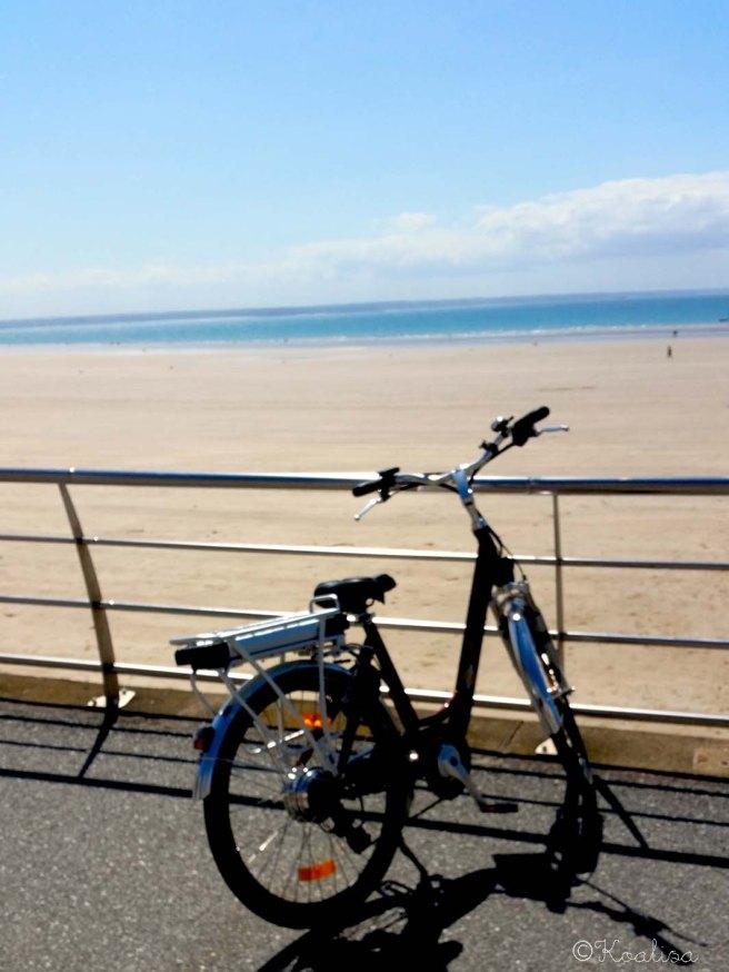 vélo plage