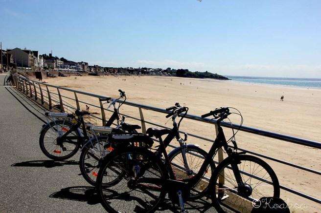 vélos plage
