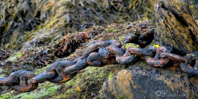 chaîne rouillée le conquet