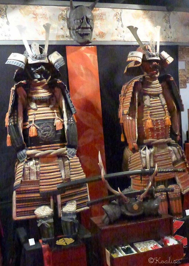 samourai armure